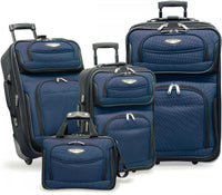 Traveler's Choice Travel Select Amsterdam 4-Piece Expandable Luggage Set