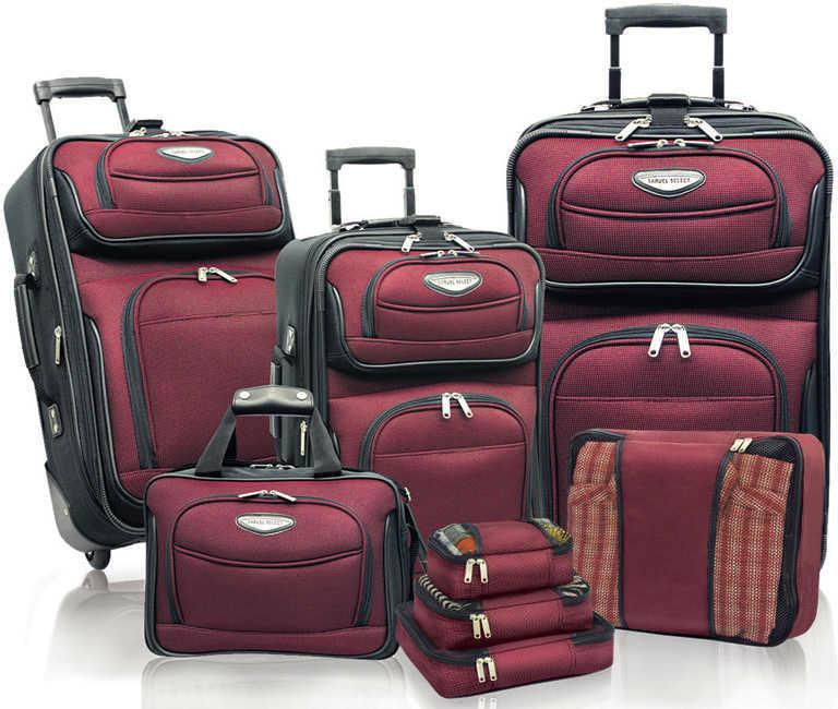 Traveler's Choice Travel Select Amsterdam 8 Piece Luggage Set