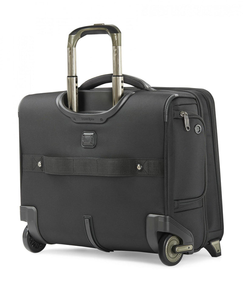 Travelpro Crew Executive Choice 2 Wheeled Brief-Luggage Pros