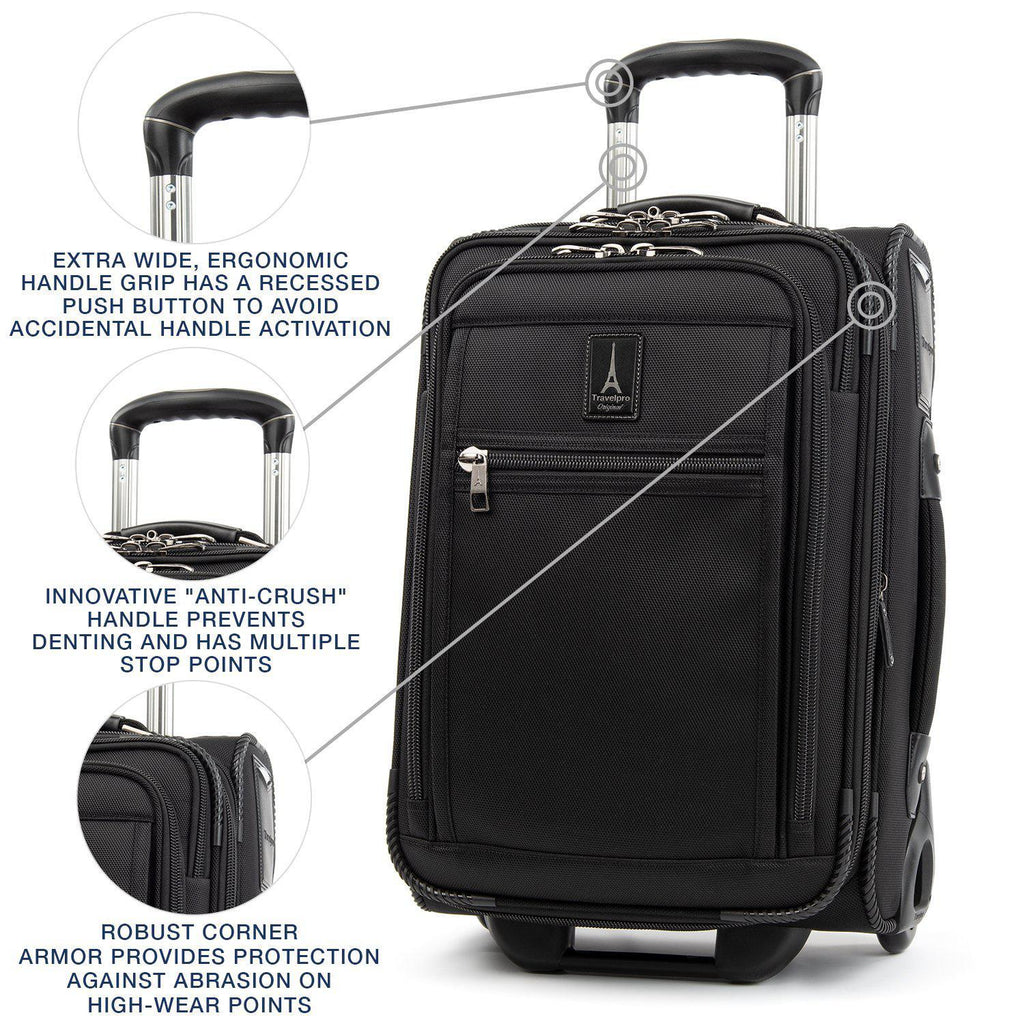 Travelpro Crew Expert Global Carry-On Expandable Rollaboard