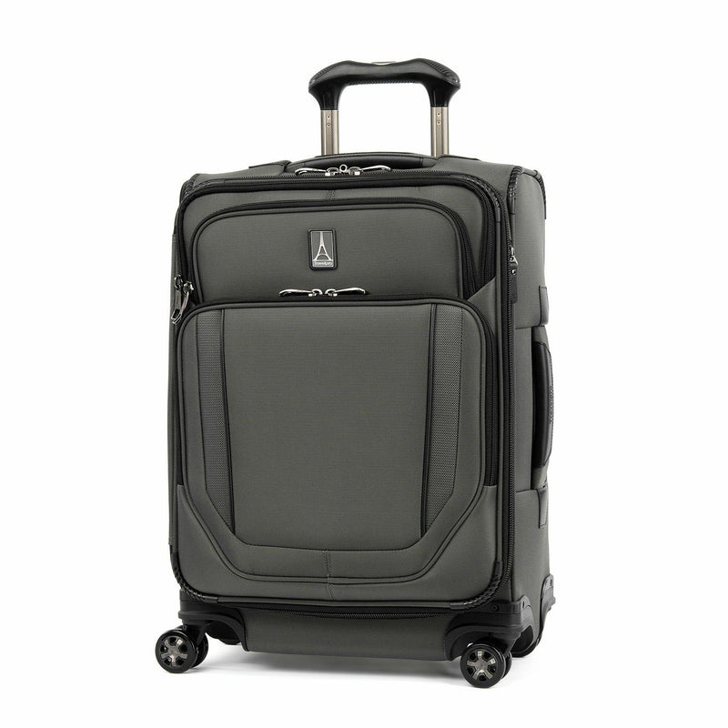Travelpro Crew VersaPack Max Carry On Expandable Spinner-Luggage Pros