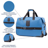 Travelpro Maxlite 5 Lightweight Carry-On Rolling Duffel-Luggage Pros