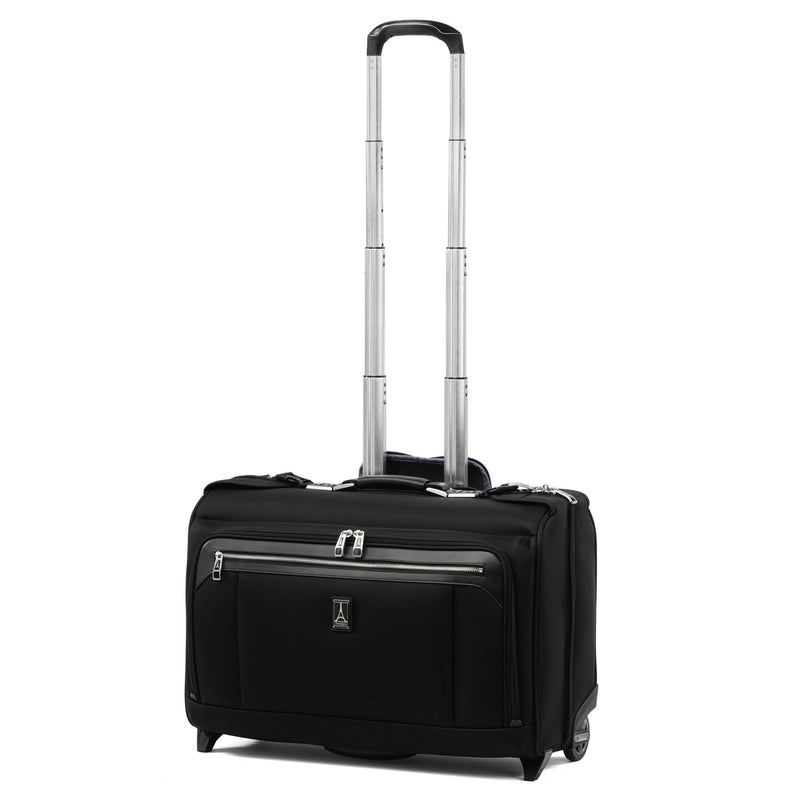 Travelpro Platinum Elite Carry-On Rolling Garment Bag - Shadow Black-Luggage Pros