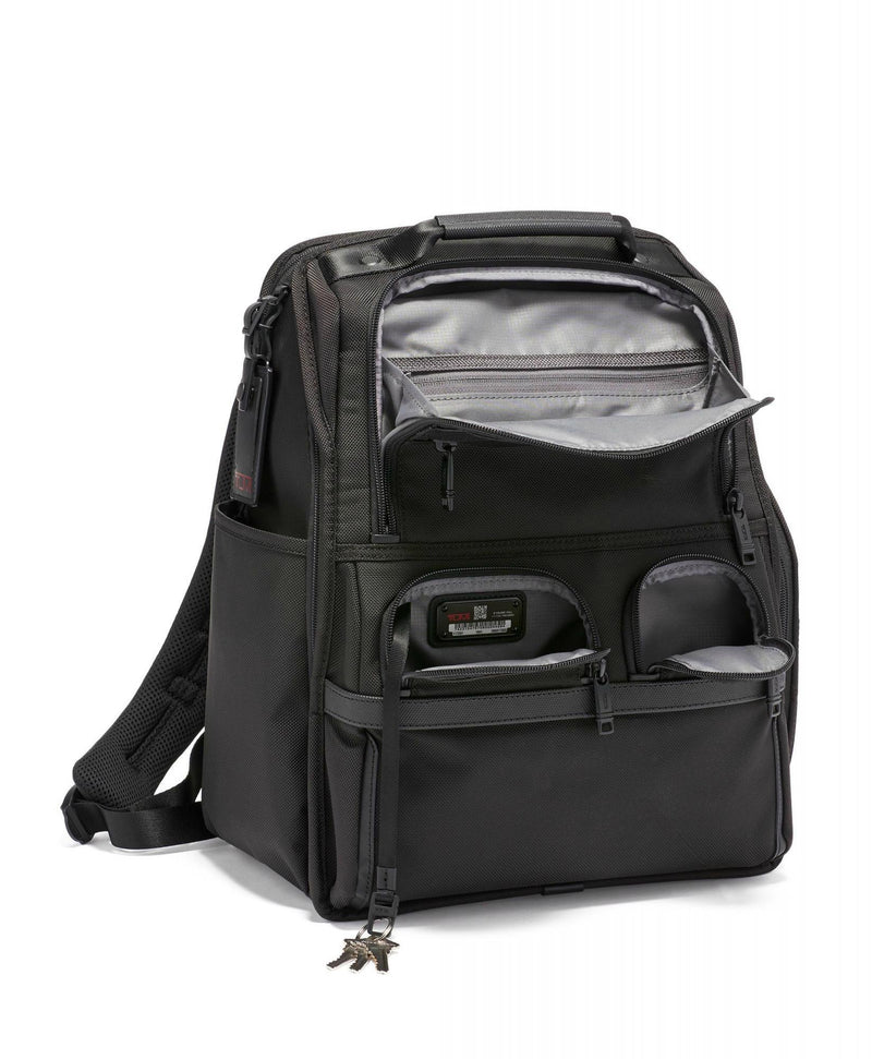 TUMI Alpha 3 Compact Laptop Brief Pack-Luggage Pros