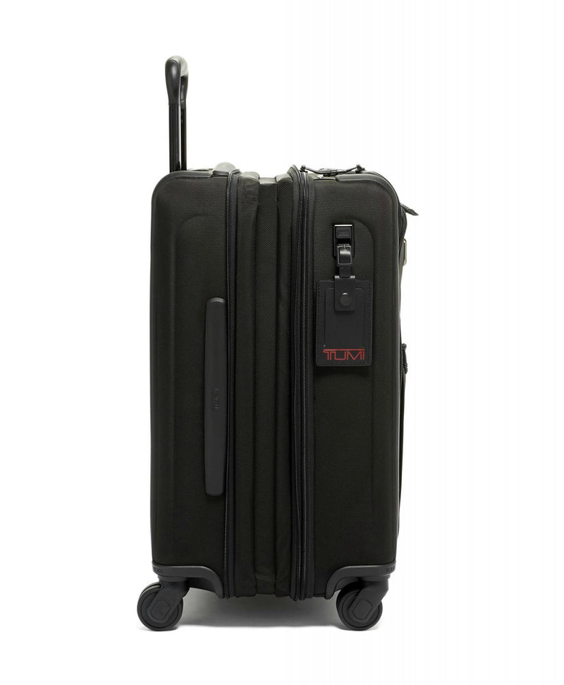 TUMI Alpha 3 International Dual Access 4 Wheel Carry-On-Luggage Pros