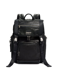 TUMI Alpha Bravo Lark Leather Backpack