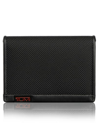 TUMI Alpha RFID Gusseted Card Case with ID