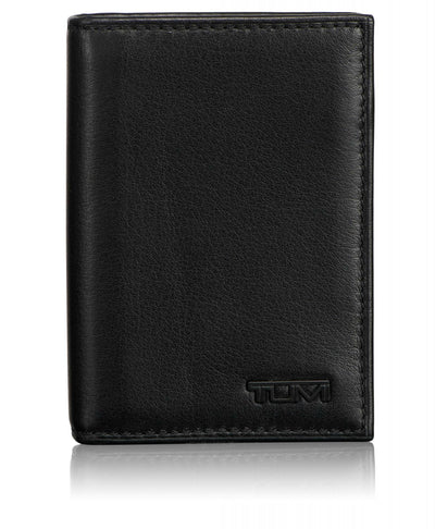 TUMI Delta RFID Gusseted Card Case ID