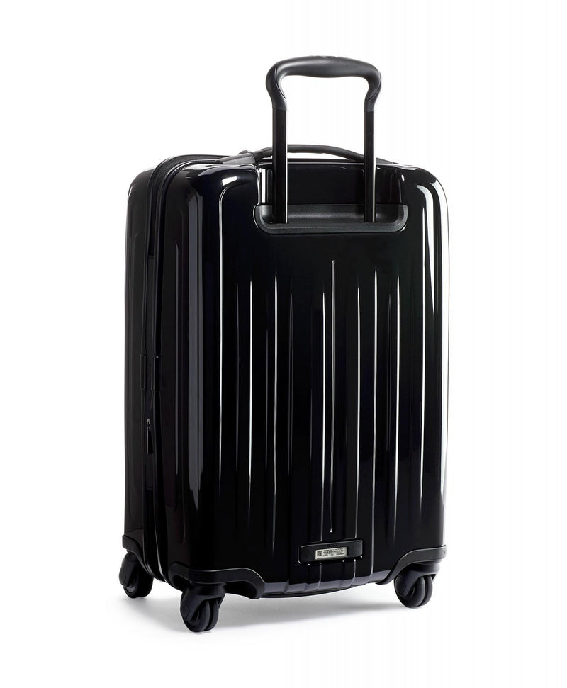 TUMI V4 International Expandable 4 Wheel Carry On-Luggage Pros
