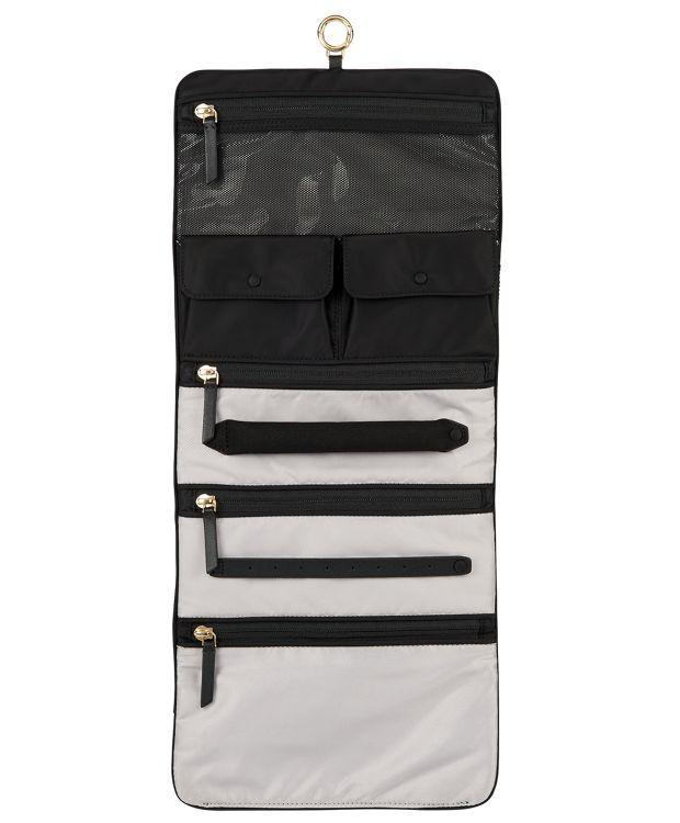 TUMI Voyageur Ennis Jewelry Travel Roll-Luggage Pros