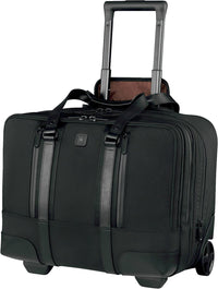 Victorinox Lexicon Professional Century Overnight Wheeled Laptop Case - Black