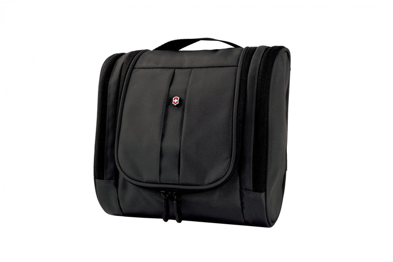 Victorinox Lifestyle Accessories 4.0 Hanging Toiletry Kit - Black-Luggage Pros