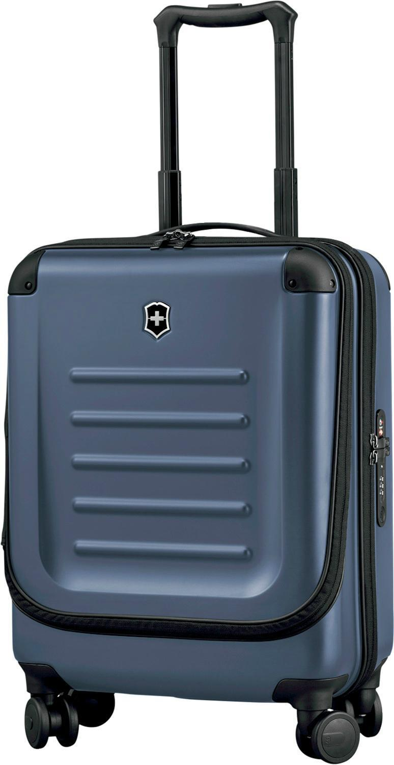 Victorinox Spectra 2.0 Dual-Access Extra Capacity Carry-On Spinner-Luggage Pros