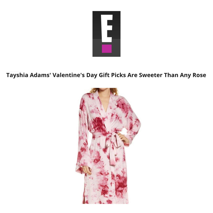 EOnline | Tayshia Adams' Valentine's Day Gift Picks Are Sweeter Than Any Rose