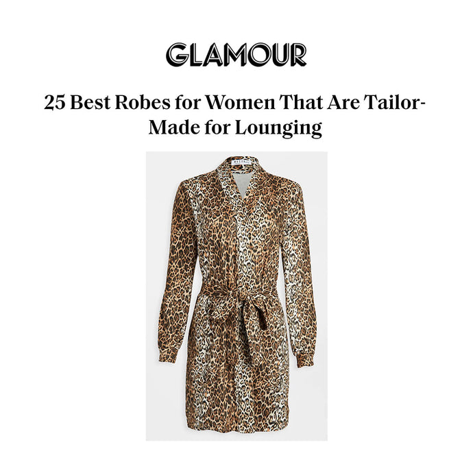 GLAMOUR | 25 BEST ROBES FOR WOMEN THAT ARE TAILOR-MADE FOR LOUNGING