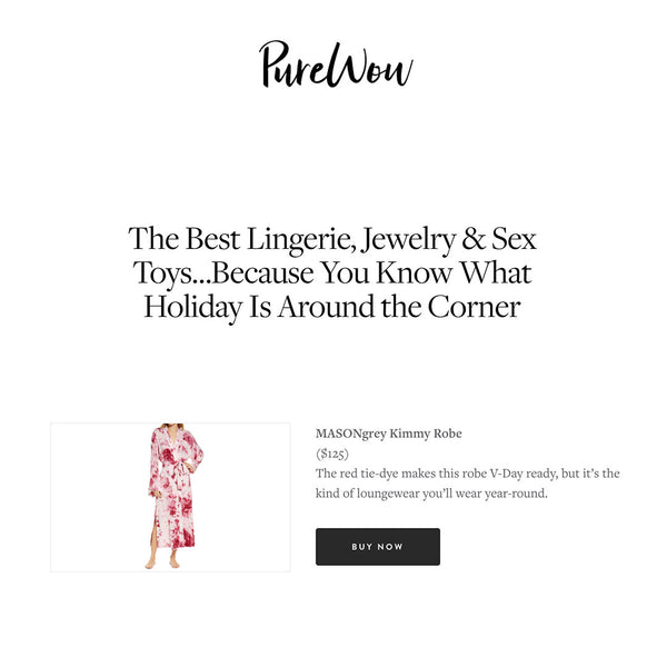 Pure Wow | The Best Lingerie, Jewelry & Sex Toys…Because You Know What Holiday Is Around the Corner