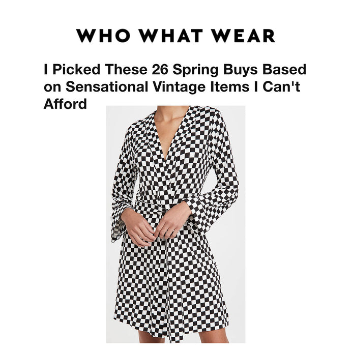 WHO WHAT WEAR | I Picked These 26 Spring Buys Based on Sensational Vintage Items I Can't Afford