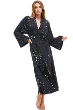 Load image into Gallery viewer, PRE-ORDER KIMONO | BLACK STARS