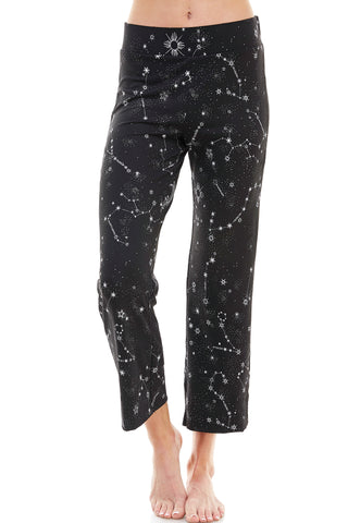 SLEEPY CROP PANT | BLUE STARDUST