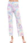 SLEEPY CROP PANT | RAVEN TIE-DYE