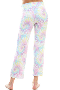 SLEEPY CROP PANT | COTTON CANDY