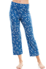 Load image into Gallery viewer, SLEEPY CROP PANT | BLUE STARDUST