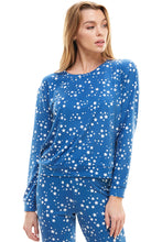 Load image into Gallery viewer, SLEEPY CREWNECK | BLUE STARDUST