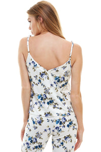 SLEEPY TANK | ROYAL FLORAL
