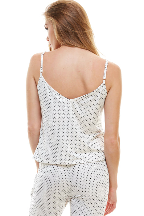 SLEEPY TANK | WHITE DOTTY