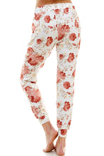 Load image into Gallery viewer, SLEEPY JOGGER | PEACH BELLINI FLORAL