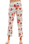 SLEEPY CROP PANT | 70s FLORAL