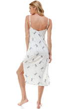 Load image into Gallery viewer, MIDI SLIP DRESS | IVORY WINTER LIGHT