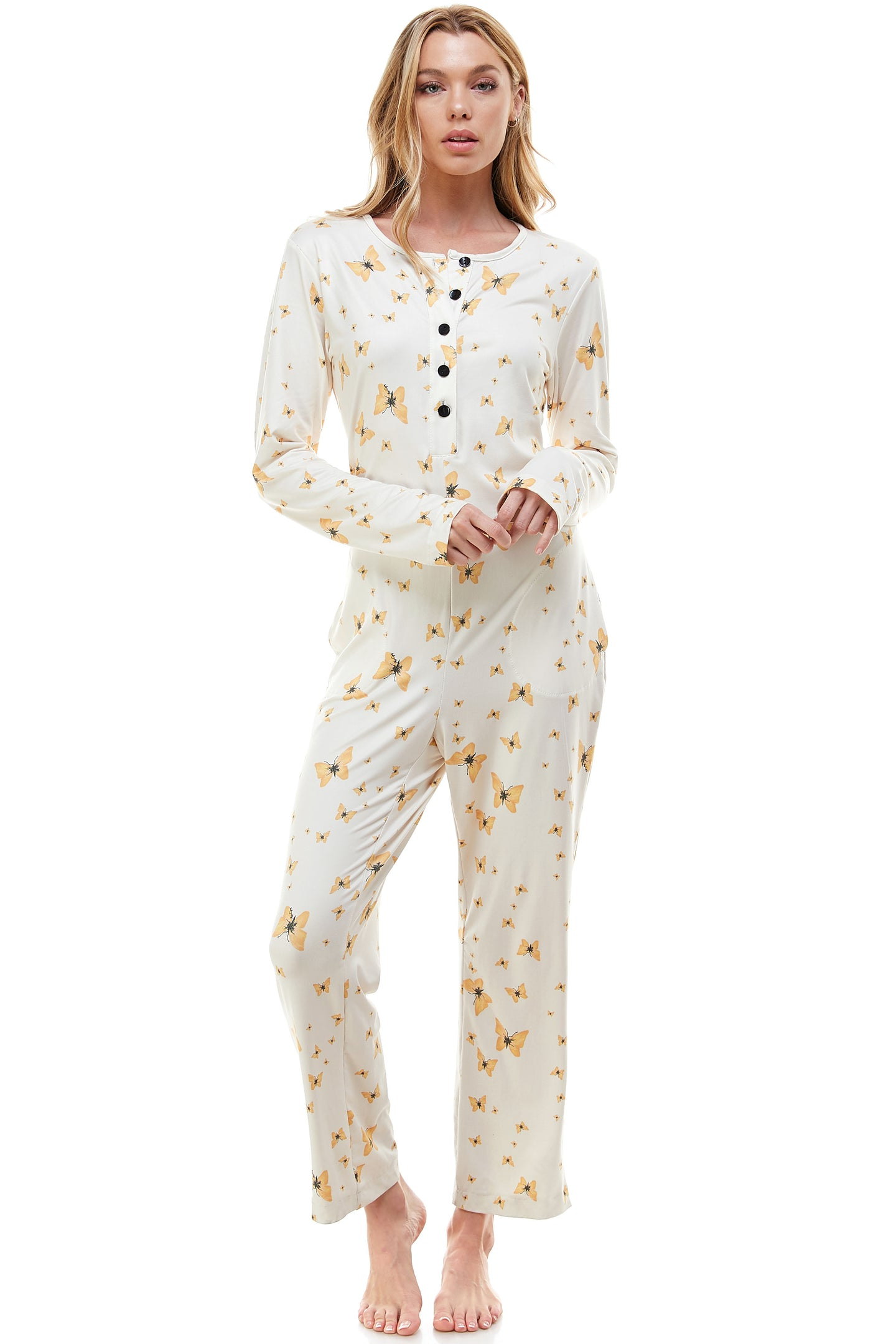 ONESIE | GOLD BUTTERFLY