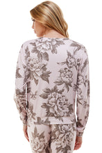 Load image into Gallery viewer, SLEEPY CREWNECK | PINK BOUQUET