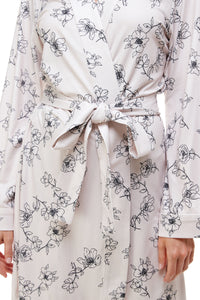 CLASSIC SHORT | BLUSH SKETCH FLORAL