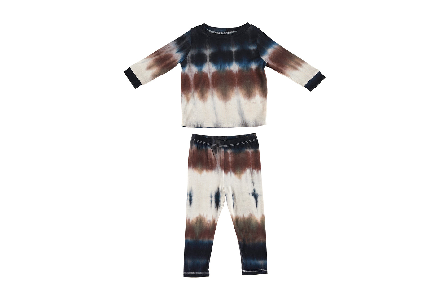 Mini PJ Set | Boho Tie Dye