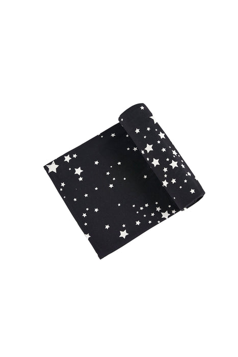 MINI | SWADDLE BLACK STARS