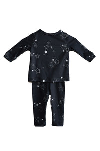 Mini PJ Set | BLACK SHOOTING STAR