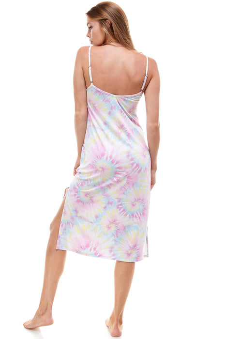 MIDI SLIP DRESS |  COTTON CANDY