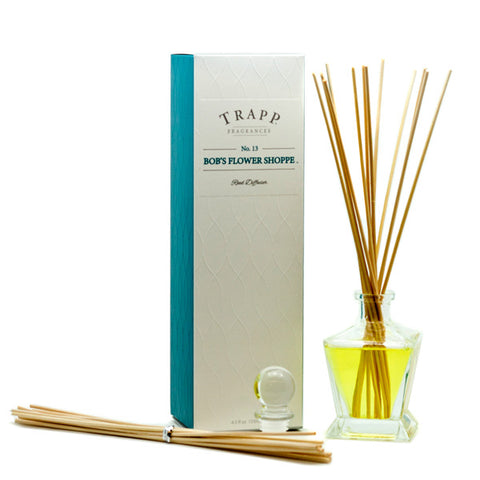 No. 13 Bob's Flower Shop Reed Diffuser - Scents Lifestyle Home Fragrances