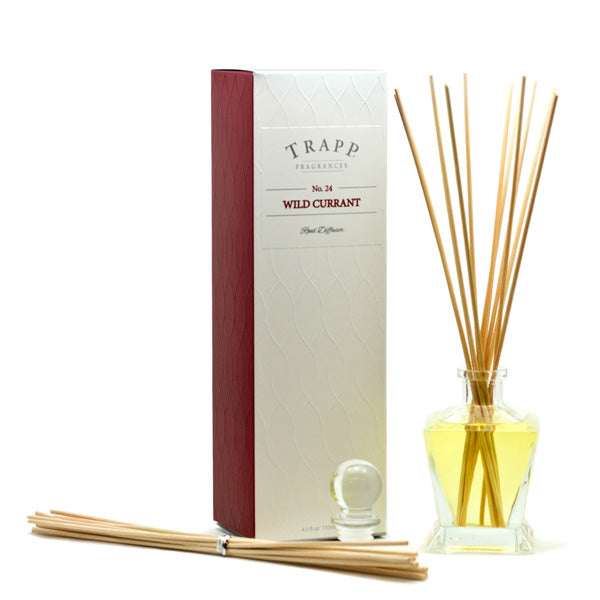 No. 24 Wild Currant Reed Diffuser - Scents Lifestyle Home Fragrances