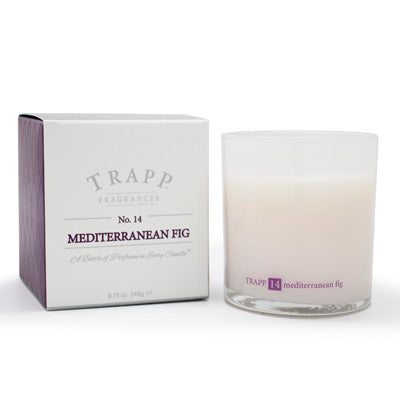 No. 14 Mediterranean Fig Poured Candle - Scents Lifestyle Home Fragrances