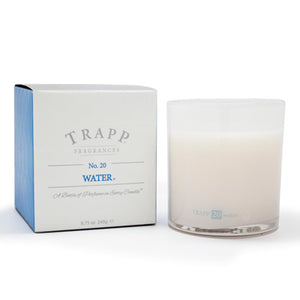 No. 20 Water Poured Candle - Scents Lifestyle Home Fragrances
