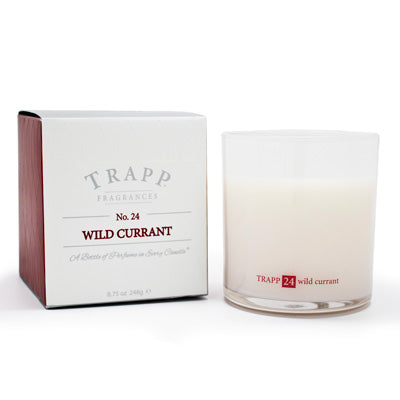 No. 24 Wild Currant Poured Candle - Scents Lifestyle Home Fragrances