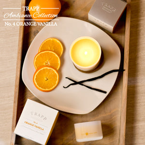 No. 4 Orange Vanilla Poured Candle - Scents Lifestyle Home Fragrances