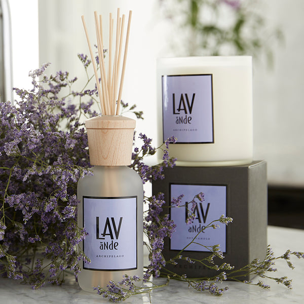 Lavenda Boxed Candle - Scents Lifestyle Home Fragrances