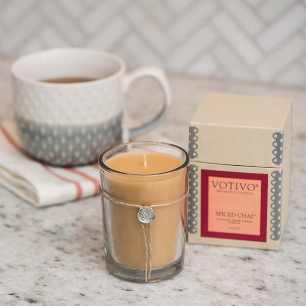 Spiced Chai Candle - Scents Lifestyle Home Fragrances