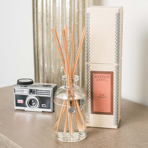 Teak Reed Diffuser - Scents Lifestyle Home Fragrances