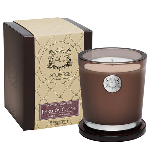 French Oak Currant Large Soy Candle - Scents Lifestyle Home Fragrances
