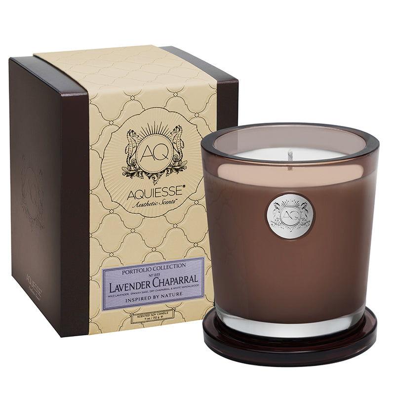 Lavender Chaparral Large Soy Candle - Scents Lifestyle Home Fragrances